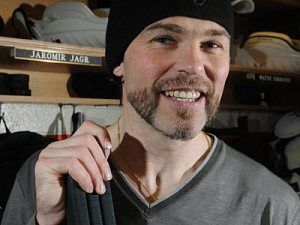 My favorite hockey player becomes U2's guitarist