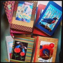 Courtney Putnam's journals (a portion of proceeds went to Corbin and breast cancer research)