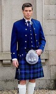 The Rare Scottish Bluebird