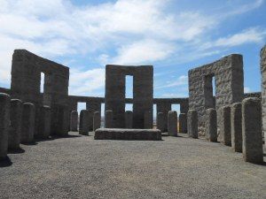 Stonehenge WWI Memorial on Columbia River Gorge