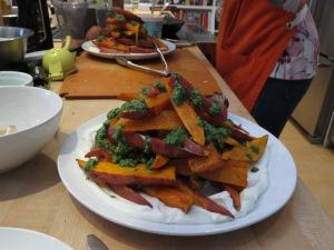 Amanda's Vertical Sweet Potatoes