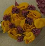 My sad, saggy roses.