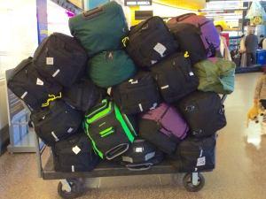 Menstrual kits ready to go at Sea-Tac Airport