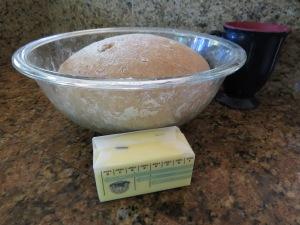 First non-breadmaker bread rising